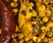 מרק פטריות, בשר וגריסים